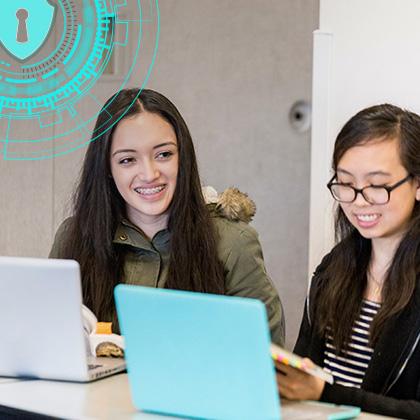 Students peer programming